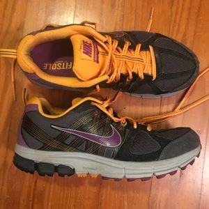 Nike Purple Orange Pegasus 28 Trail